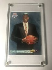 1992-93 Alonzo Mourning Rookie Upper Deck Basketball Trading Card #2