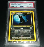 PSA 9 MINT Umbreon 13/75 Neo Discovery HOLO RARE Pokemon Card