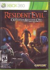 XBOX 360 Game:  RESIDENT EVIL OPERATION RACCOON CITY - Complete - Shooter CAPCOM