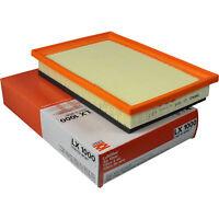 Original MAHLE / KNECHT Luftfilter Filter LX 1000 Air