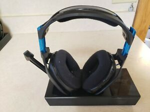 Astro A50 Wireless Headset & Base Station for PlayStation 4 PS4 - Gen 3 - Blue