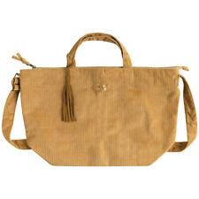 Rilakkuma 2WAY Tote Shoulder Bag Corduroy Camel San-X Japan