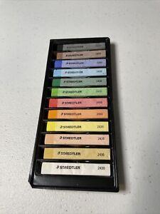 Staedtler Soft Chalk Pastels, 2430 C12A6