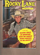ROCKY LANE WESTERN  #41  1952  FAWCETT  ''BLACK JACK''  TV SERIES  FN-