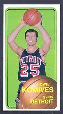 1970 Topps #42 Howie Komives Guard Detroit NM-MT Plus