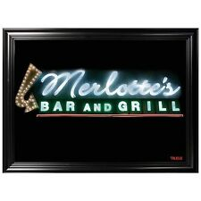 True Blood Merlotte's Bar and Grill Framed Mirror Art