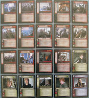 LORD OF THE RINGS TRADING CARD GAME SIEGE OF GONDOR RARE CARD 8R15 GANDALF