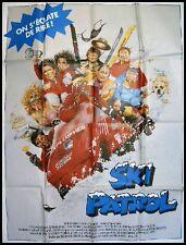 SKI PATROL Movie Poster / Affiche Cinéma160x120  Roger Rose & Yvette Nipar
