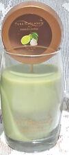 YANKEE CANDLE Pure Radiance KEY LIME 4 oz Petite Vase JAR CANDLE NEW HTF