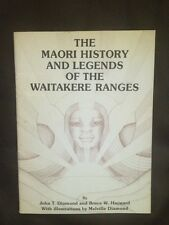 Maori History And Legends Of Waitakere Ranges ~ John Diamond ~ 1979 Softcover