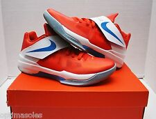 Nike KD IV 4 Creamsicle Size 11 - Orange White Blue - Galaxy - 473679 800
