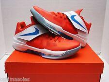 Nike KD IV 4 Creamsicle Size 11 - Orange White Blue - Galaxy - 473679 800