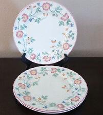 Churchill Fine English Tableware Briar Rose Dinner Plates x3 Pink/Purple Flower