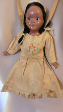 RARE 40-60s American Indian Girl Doll Purse