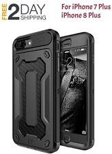 iPhone7 8 Plus Case Hybrid Heavy Duty Defender Shockproof Hard Holster Clip NEW