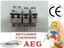 KIT QUADRO DI CASA ELETTRICO KIT DIFFERENZIALE SALVAVITA INTERRUTTORE MAGNETOTER