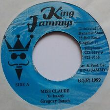 "7"" Gregory Isaacs ‎– Miss Claude Jamaica 1999 King Jammy's ‎– DSR 3278 Reggae"