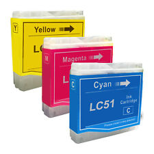 3 COLOR New LC51 Ink Cartridge for Brother MFC-230C MFC-235C MFC-240C MFC-260C