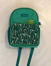 BNWT Disney Parks Vera Bradley Mickey Mouse Mickey Icon Showers Backpack Green