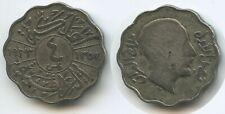 G6358 - Irak 4 Fils AH1352-1933 KM#97 Faisal I.1921-1933 Iraq