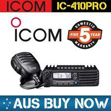 ICOM IC-410PRO 80 CHANNEL UHF CB TWO WAY RADIO IC 410 PRO IC410PRO 5 Watt CAR