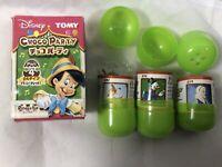 Choco Party Disney Mini Figures Set of 3 Tomy Japan - BAMBI, BLUE FAIRY, SCROOGE