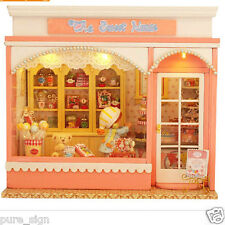 Progetto fai da te Handcraft in Miniatura Kit La Dolce Musica House casa di bambole in legno
