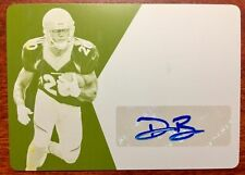 2016 Preferred # DeVontae Booker Autograph Printing Plate Yellow RC 1/1 Broncos