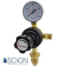 Single Stage 1 Gauge Argon/ CO2 Regulator 10 Bar UK Tested