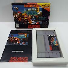 DONKEY KONG COUNTRY 3 (SUPER NINTENDO SNES) GAME + BOX + BOOKLET (R1600)