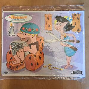 VINTAGE 1962 The FLINSTONES Hanna Barbera TRAY PUZZLE