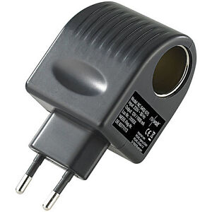 12V Adapter: Mini-Spannungswandler, 230/12 V, 1.000 mA, 12 Watt, Steckversion