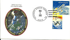 SPACE SHUTTLE COLUMBIA STS-109 LAUNCH 3/1/2002 KENNEDY SPACE CENTER HAND CANCEL