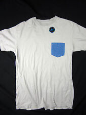 Quiksilver Surf board brand pocket men's T-Shirt size MEDIUM