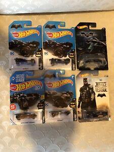(2017) Hot Wheels DC Justice League #2 Bat Shaker Lot