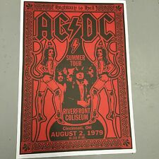 AC DC Rock Music Posters