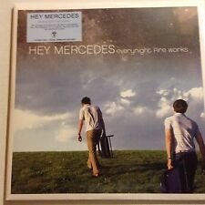 HEY MERCEDES Everynight Fire Works BLUE PURP SPLATTER 2LP x/300 Sealed GBV
