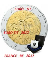 BE 2  EURO  FRANCE   COMMEMORATIVE  2017    10  000  EXEMPLAIRES   2017