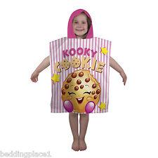 Shopkins Shopaholic Hooded Poncho Towel Girls 100 Official for Bath Beach
