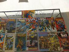 Nice Lot [15] Of  Assorted Comics  . X-Men, Batman, Others !