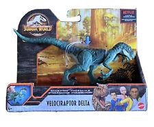 *New*Jurassic World Toys Dinosaur Camp Velociraptor DeltaCretaceous