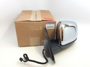 Jeep Grand Cherokee Chrome power heated blind spot driver Side View Mirror OEM