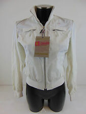 NWT PICKWICK Giacca S Jacket Small Top Leggera Light Bianco White