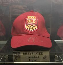BILLY SLATER SIGNED CAP IN DISPLAY CASE