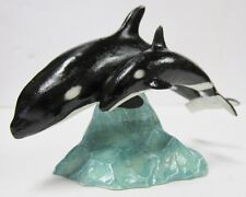 Ca03899, Killer Whale with Calf Figurine by Country Artists *New in original box