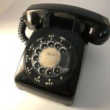 Phone Rotary Desk Northern Telecom 500 Black Parts