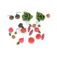 1:12 Puppenhaus Miniatur Hand gemacht Spielzeug Gemüse Puppe Küche Dekor 20YEDE