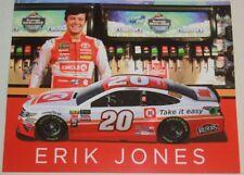 2018 Erik Jones Circle K Toyota Camry NASCAR MENCS postcard
