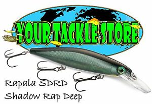 Rapala SDRD11 Shadow Rap Deep  Pick Color & Quantity NIP