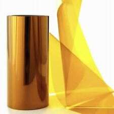 0.125mm Thick Amber Polyimide Film 5Mil x 520MM x 35FT Without Adhesive